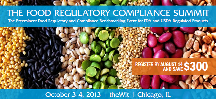Food Regulatory Compliance Summit Logo
